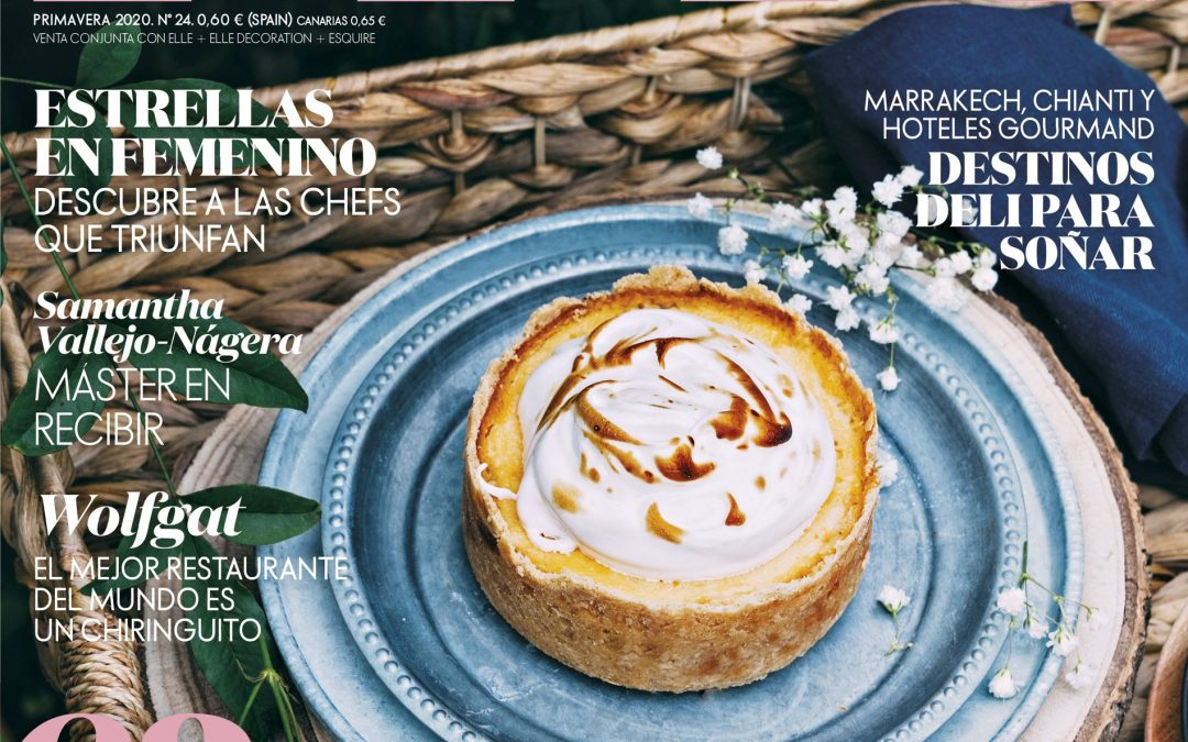 Editorial Food Photography and Recipe Development for ELLE